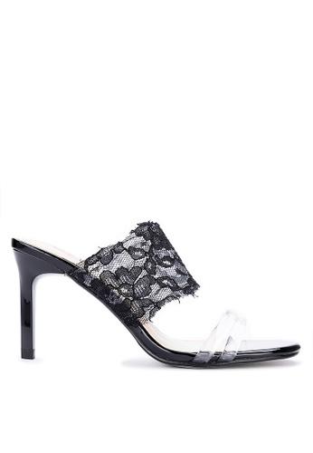 ABOUT A GIRL black Heeled Slides 52D5ESH6AE9F8DGS_1
