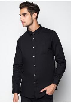 Essential Solid Longsleeved Shirt