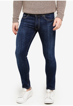 4e44111d82ac threads by the produce blue Stretch Skinny Jeans 14F44AA570FE0AGS 1