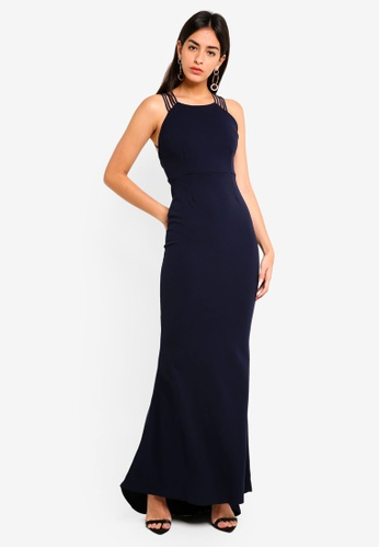 01ed5fcc20f9 Buy MISSGUIDED Bridesmaid Strap Detail Fishtail Maxi Online on ...