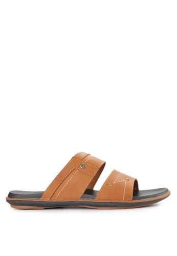 Homyped brown Thunder 02 Men Sandals HO842SH0VNJ9ID_1