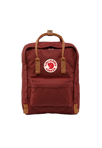 Fjallraven red and multi and brown Fjällräven Kånken Ox Red-Goose Eye 3F9B9AC9C78190GS_1
