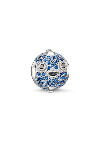 "THOMAS SABO silver Bead ""blue pufferfish 86674ACB262D4EGS_1"