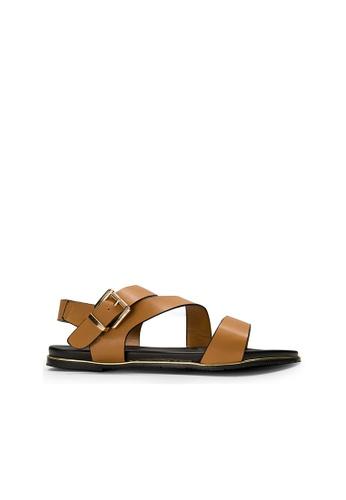 SEMBONIA beige SEMBONIA Flats (Camel) DB04ESH5B22393GS_1