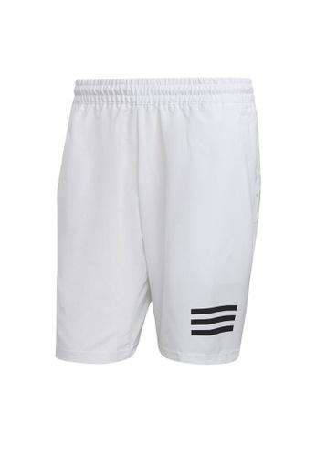 ADIDAS white Club Tennis 3-Stripes Shorts A19F5AA13A296FGS_1