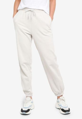 H&M grey Cotton-Blend Sweatpants 7928EAA28645D7GS_1