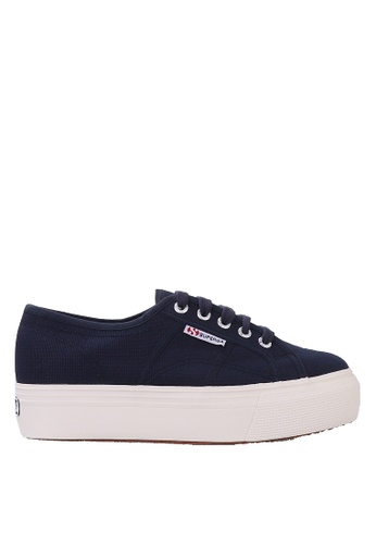 Superga navy Superga Flatform - Navy 3CC47SH44C43C5GS_1