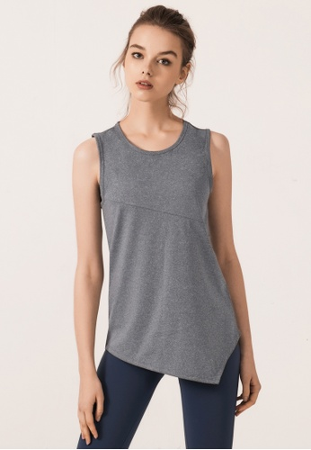 HAPPY FRIDAYS Women's Cropped Yoga Tank DSG3052 FDC6BAA08E9B7DGS_1