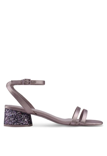 Call It Spring purple Oltre Mid Heel Sandals 8AA74SH08009F8GS_1