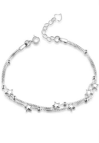 090d24da5 Vivere Rosse silver Lucky Stars 925 Sterling Silver Bracelet  VI014AC65RISMY_1
