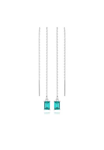 SUNRAIS silver High quality Silver S925 silver simple design earrings 7AA7EAC67CA92DGS_1