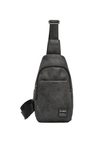 Lara black Plain Zipper Cross Body Bag - Black 1D8D7ACA406464GS_1