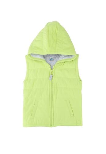 LC Waikiki green Baby Boy Puffer Vest 97CA9KA99F820FGS_1