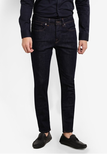 Selected Homme blue and navy Skinny Fit Jeans SE364AA85FVQMY_1