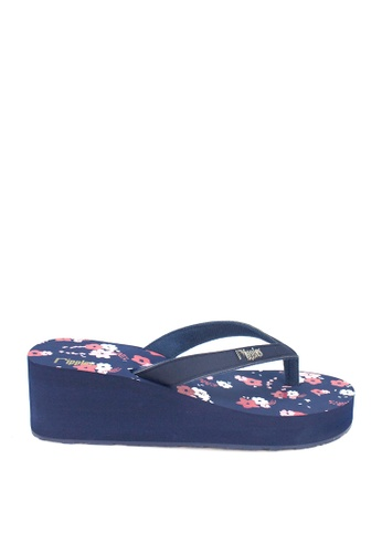 Ripples blue Lyla Floral Wedges RI425SH54AFHSG_1