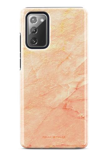 Polar Polar pink Sunset Dual-Layer Tough Case Glossy For Samsung Galaxy Note20 5G CD8E1AC3EC796FGS_1