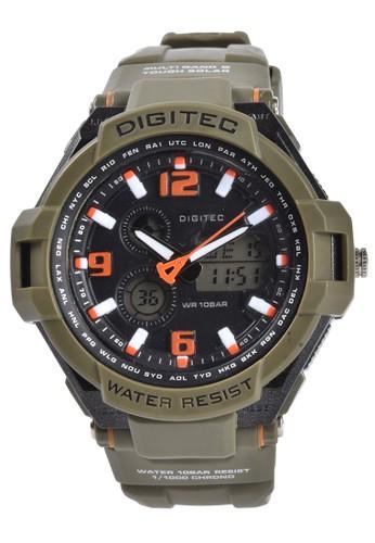 Digitec green Digitec - Jam Tangan Pria - Green - Resin Strap - DG2039-F E263DACE64487EGS_1