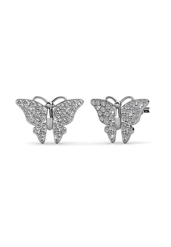 on sale online coupon code beautiful design Swarovski Butterfly Earrings