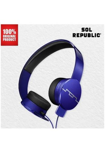 SOL REPUBLIC blue Headphone Tracks HD 2 Sol Republic - Blue 306A8ES932D373GS_1