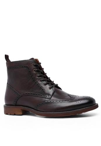 Twenty Eight Shoes 吉卜賽紳士真皮復古短靴816301 92BFESH7ACCAC1GS_1
