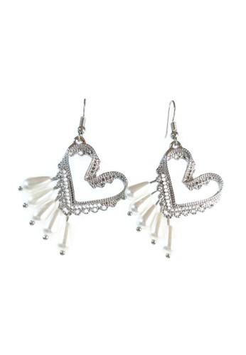 La Miina silver Calder Silver Drop Earrings 9EE03AC685D2E5GS_1