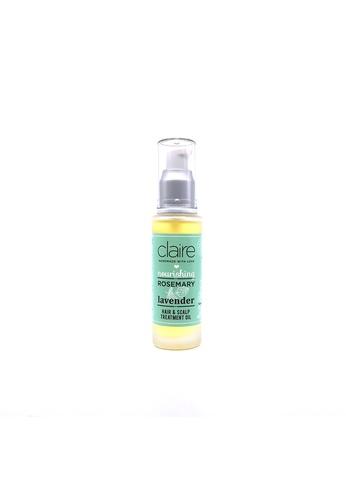 Claire Organics Lavender Rosemary Hair & Scalp Treatment Oil CL318BE67GYMMY_1