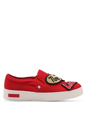 ALDO red Keacien Slip On Fashion Athletics E3098SH816B6FDGS_1
