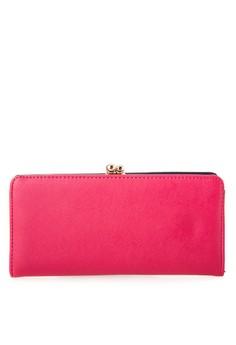 Saffiano Long Wallet