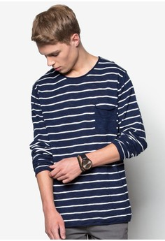 Stripe Pocket Jumper