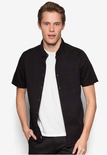 Factorie black The Saint Short Sleeve Shirt FA113AA88OUHID_1