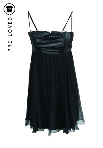 Maje black Pre-Loved maje Silk Dress 0028FAAA47D00DGS_1