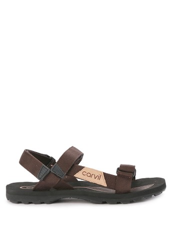 CARVIL multi and brown Sandal Gunung Men Douglas Gm 79659SHBD1DB93GS_1
