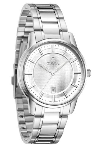 ZECA silver Zeca Watches Couple Men Fashion - 311M Silver ZE260AC75SLGSG_1