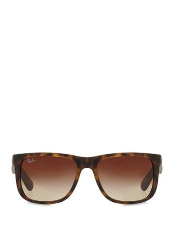 729e6d7c28 Buy Ray-Ban Justin RB4165 Sunglasses Online on ZALORA Singapore