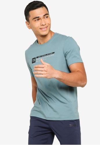 361° green Cross Training Short Sleeve T-Shirt A9130AA9B21BADGS_1