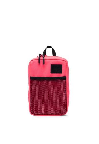 Herschel black and pink Herschel Sinclair Large Crossbody Neon Pink/Black - 1.5L FE0F2ACDC9BCE2GS_1