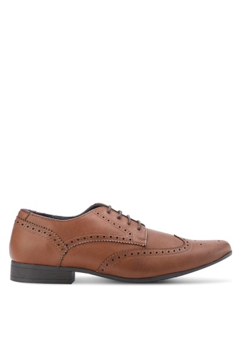Burton Menswear London brown Redford Shoes BU964SH99DPKMY_1