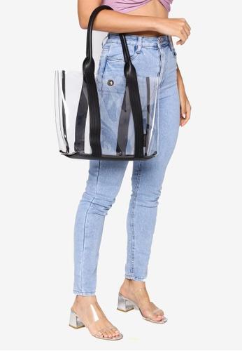 Milliot & Co. 黑色 Serena Totes Bag 9DEFCAC4AB78ECGS_1