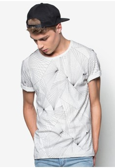 Abstract Perspective Lines Tee