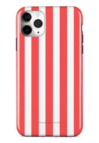 Polar Polar red Scarlet Stripe Dual-Layer Tough Case Glossy For iPhone 11 Pro Max B88A1AC4E7FB78GS_1