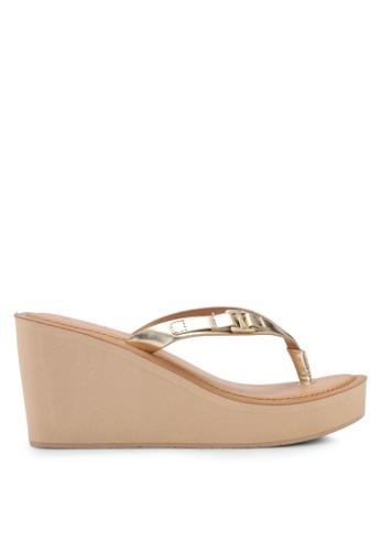 ALDO 金色 型涼鞋 AC885SH5DE652FGS_1