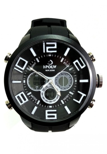 Lucky JX black Korea Edition High-Grade Quartz Watch BCCD5AC3188BF0GS_1