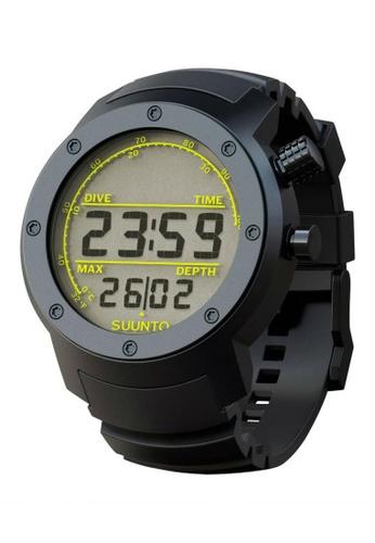 SUUNTO grey Elementum Aqua Black Rubber / Light Display SUSS014529000 Diving Watch SU835AC0RJ4ZMY_1