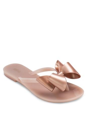 Haresprit 鞋monic 蝴蝶結拖鞋, 女鞋, 涼鞋