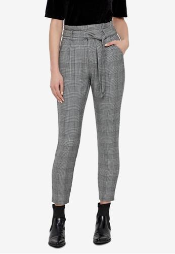 Vero Moda grey Eva Loose Paperbag Pants 8C506AA35BC0F7GS_1