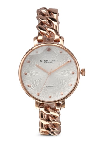 Stuhrling Original gold Vogue 596 Watch ST251AC0SL40MY_1