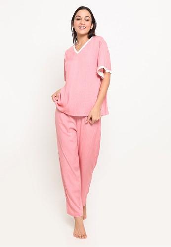 Possession pink Possession Pajamas Set 7131 PKP 6E4F8AA73AC6BBGS_1