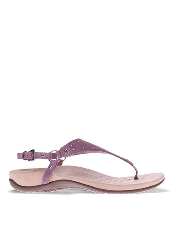 Vionic purple Margot Studs Backstrap Sandal F9FDFSH683EBDAGS_1