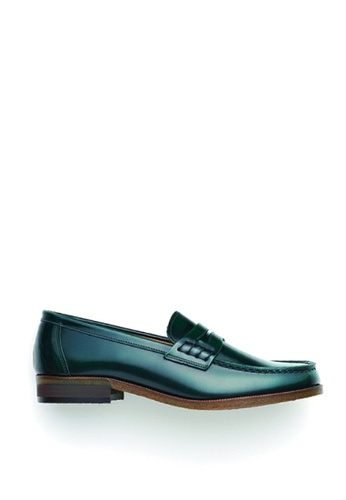 HARUTA green Coin Loafer-MEN-920 1E66ASHA22481CGS_1