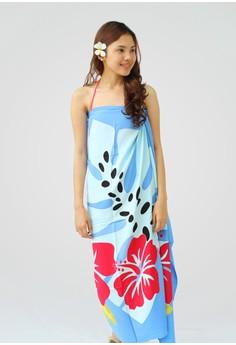 Twin Leaves Marina Hand Painted Sarong